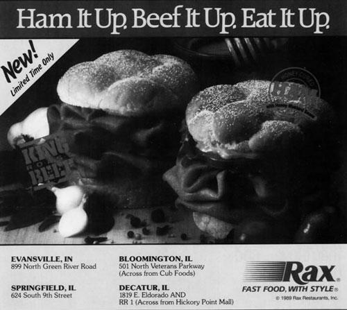 Rax Roast Beef ad