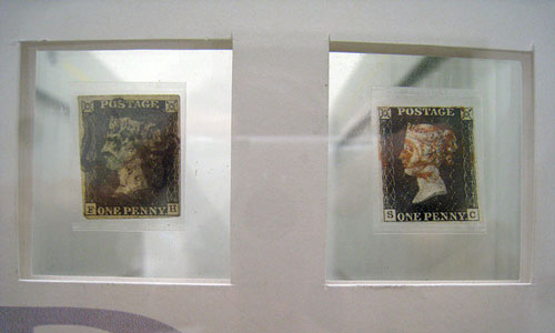 Adhesive stamp