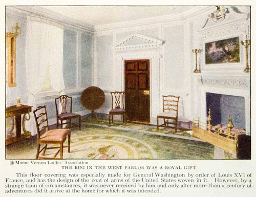 George Washington carpet