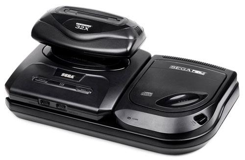 Sega Genesis with Sega CD and 32X