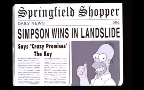 Crazy promises the key