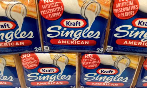 Kraft American cheese