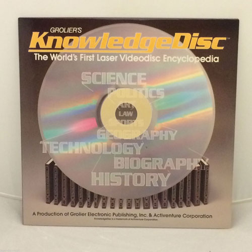 Groliers KnowledgeDisc