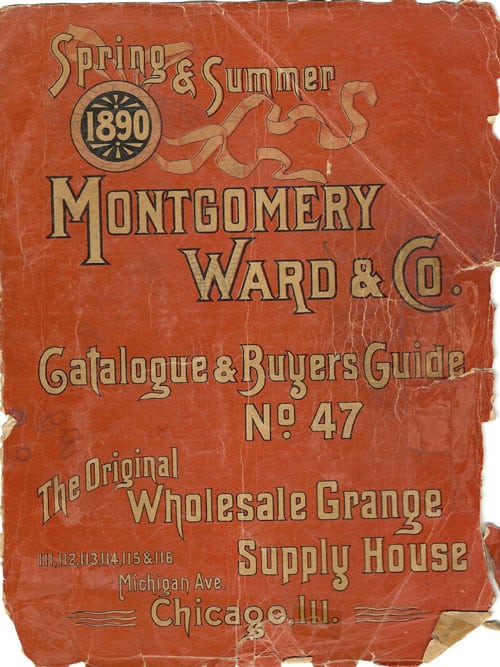 1890 Montgomery Ward catalog