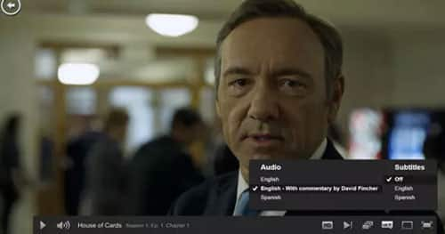 House of Cards audio commentary