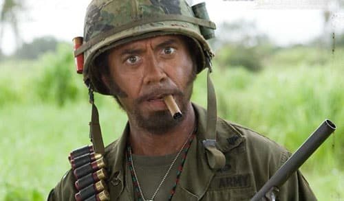 Tropic Thunder Robert Downey Jr.