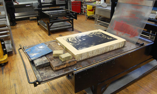 Lithography stone