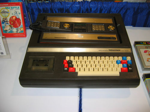 Intellivision with Keyboard Component