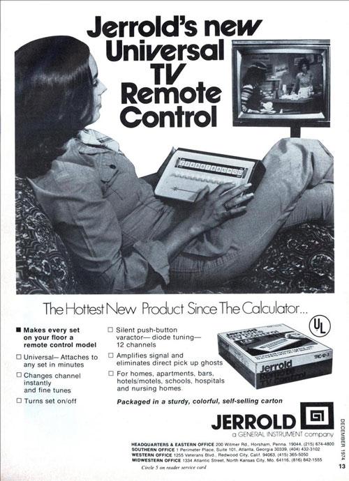 Jerrold remote control