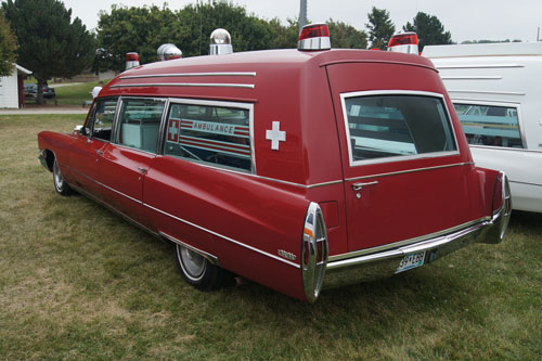 Ambulance hearse