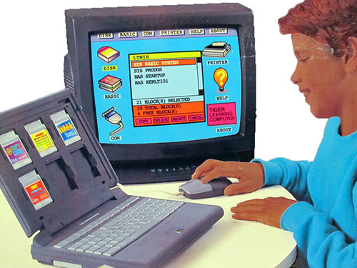 Tiger Learning Computer