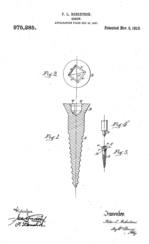 Robertson Screw