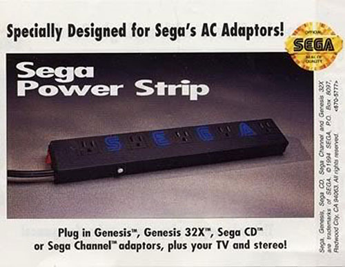 Sega Power Strip