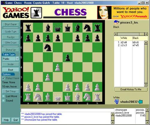 Yahoo Chess