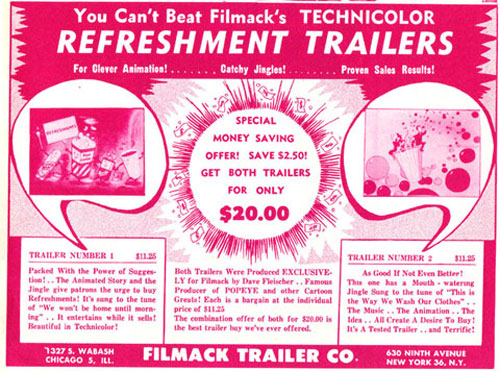 Early Filmack ad