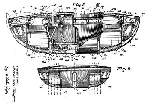 Discopter patent drawing