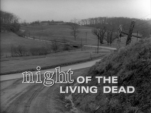 Night of the Living Dead title screen