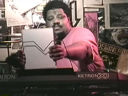 Wesley Willis in concert