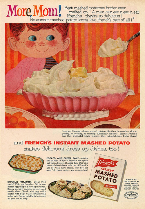 French's Instant Mashed Potato ad