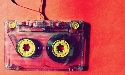 Y2K cassette tape