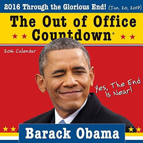 Obama Out of Office Wall Calendar