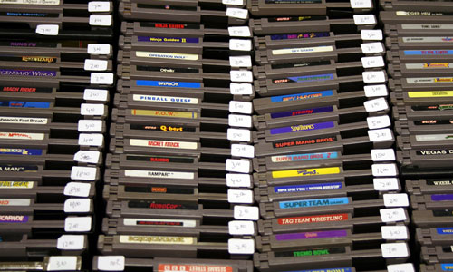 Nintendo cartridges