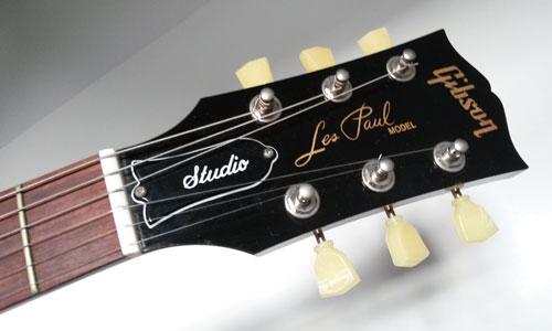 Gibson Les Paul Studio Headstock