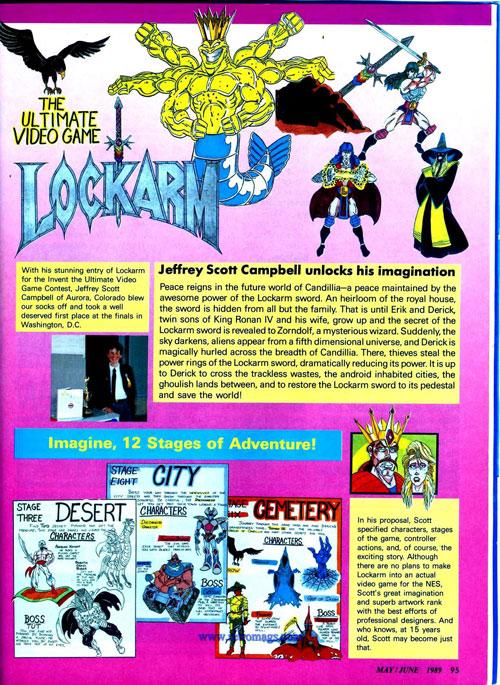 Nintendo Power Lockarm