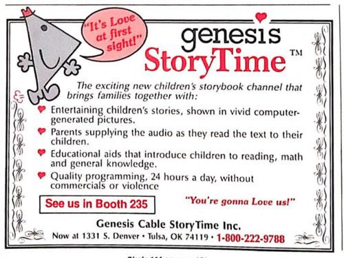 Genesis StoryTime ad