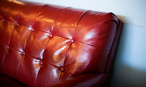 Pleather couch