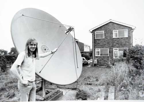 Stephen Birkill satellite dish