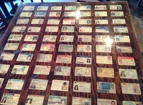 The Fake ID Wall of Shame