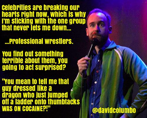 Dave Columbo wrestling