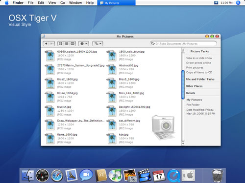 Mac OSX Tiger V