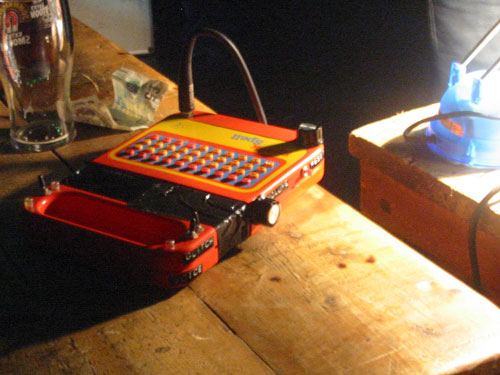 Circuit-bent Speak & Spell