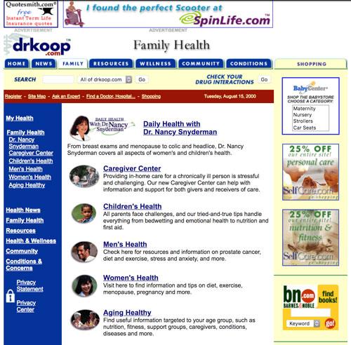 DrKoop.com ads