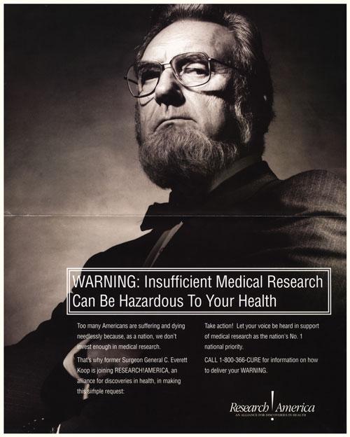C. Everett Koop ad