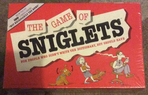 The Game of Sniglets
